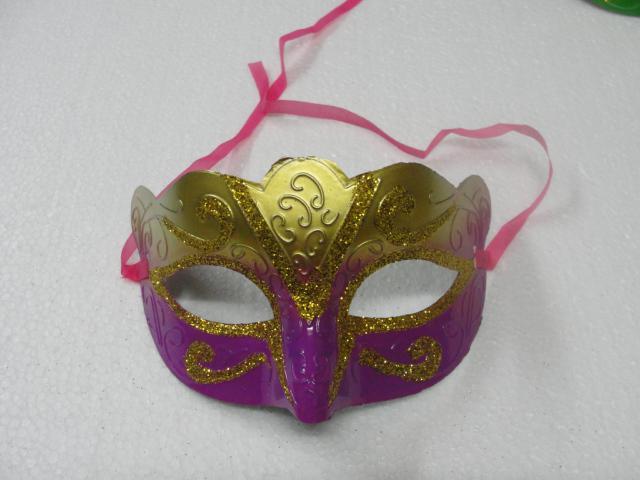 100 unids / lote promoción venta de la máscara del partido nuevo regalo de boda de oro de la manera veneciana fuente de la fiesta de disfraces Hallween prop envío gratis