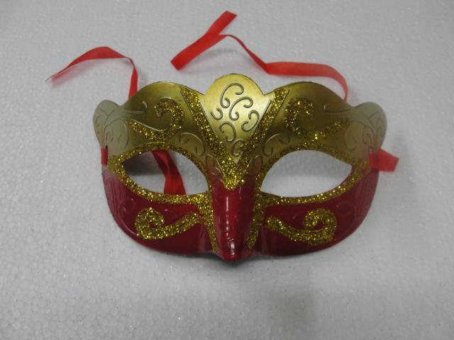 2014 حار مبيعات الأزياء رسمت قناع الذهب الساطع مطلي حزب قناع حفلة تنكرية ماردي غرا