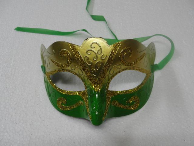2014 Ny Hot Fashion Mask Gold Shining Plated Party Mask Bröllop Props Masquerade Mardi Gras Mask