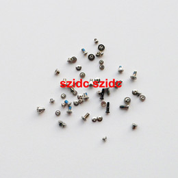 Wholesale Original Iphone Screws - 100set lot Original New Full Screws Set For iPhone 5S Replacement Parts Top Quality Wholesale Free Shipping