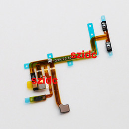Wholesale Button Gen - Original New Power On Off Volume Button Flex Cable Ribbon For iPod Touch 5 5th Gen Parts