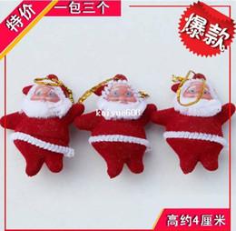 Livraison gratuite,le Père Noël Charms Pendentif Arbre de Noël de la Décoration de Santa Claus Fit Partie rouge. décoration d'arbre de noël ? partir de fabricateur