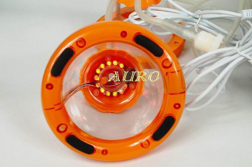 استخدام صالون سبا لتدليك الحلمة وفراغ تكبير الثدي معدات CE موافقة المنزل وصالون AU-6802