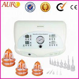 Usar equipo de spa online-Uso del salón de spa para el masaje de los pezones y el equipo de aumento de pecho con aspiración CE Homologación y salón AU-6802