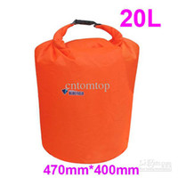 Wholesale Dry Bag Canoe Camping - Wholesale - 20L Water Resistant Waterproof Dry Bag for Canoe Kayak Rafting Camping drifting H8071S