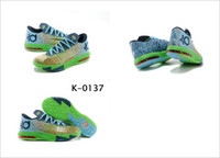 Wholesale Basketball Player Shoes - Fast Shipping High Quality Famous Player Kevin Durant KD VI 6 basketball shoes Animal Liger KD 6 Air Zoom Sports Shoes Men Athletics Boots