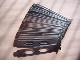 Dell lenovo hp acer için Ağ Geçidi PCI Çift VGA DB9 Seri Yuvası Kapak tam boy Braketi Nikel kaplama w / vida nereden hayvan telefon tutucuları tedarikçiler