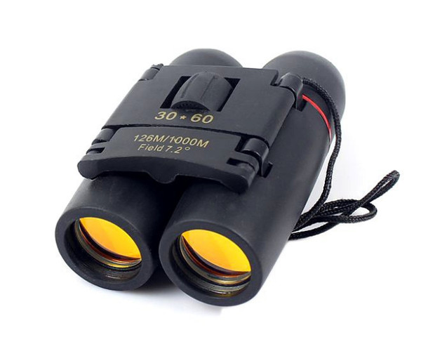 Envío gratis visión nocturna Sakura LLL portátil 30 x 60 Zoom telescopio binocular militar óptico (126 m-1000 m) 100% nuevas gafas de campo 1808