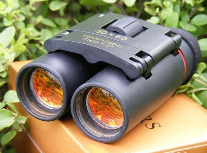Portable Sakura LLL night vision 30 x 60 Zoom Optical military Binocular Telescope 126m-1000m 100% New Field glasses 1808