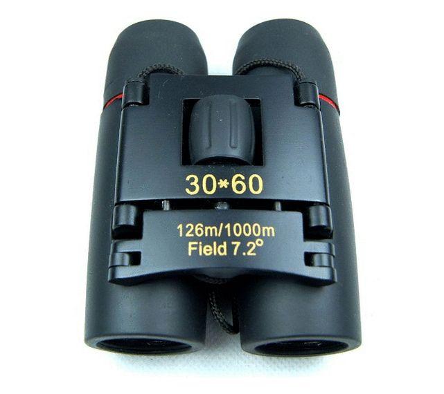 Livraison gratuite Portable Sakura LLL vision nocturne 30 x 60 Zoom Optique militaire Binocular Telescope 126m-1000m 100% New Field Fields 1808