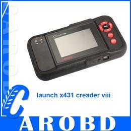 Wholesale Creader X431 - X431 Creader VIII Creader 8 Comprehensive Diagnostic Instrument Original Creader 8 Automotive Scan System obd ii scanner