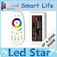 Wholesale Dimmer 12 - 2.4G Touch Wireless RF Controller Dimmer LED RGBW & Remote 12-24V 24A For RGB RGBW Led Light Strip