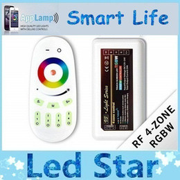 Wholesale Touch Light Dimmers - 2.4G Touch Wireless RF Controller Dimmer LED RGBW & Remote 12-24V 24A For RGB RGBW Led Light Strip