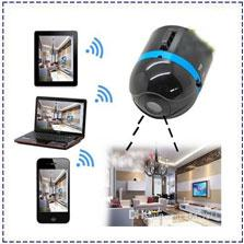 Wholesale Smallest Wireless Mini Camera - World's Smallest Wifi Wireless Mini Surveillance spy Camera IP Cam,Ai-ball Hot selling