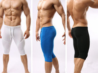 Wholesale Swimming Trunks Pants For Men - swimming trunks man jogging breeches gym Sportswear Fitness Swimwear For sports Men Running Tights Cycling Shorts Bodybuilding fitness pants