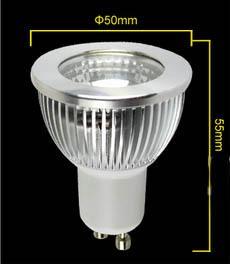 CA 85-265 V 3 W PANNOCCHIA LED Faretto Lampadine Lampada E27 GU10 Soffitto da interno Faretto da incasso Lampadina H55mm WW CW CE ROSH 2 anni di garanzia 50 pz / lotto