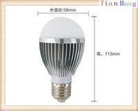 Wholesale E27 12w Ball - E27 E14 4X3W 12W Globe Lamp Led Bubble Ball Bulb 85V-265V Bubble Ball Bulb Warm Pure Cool White