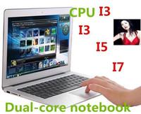Wholesale Cheap 8gb Ram Laptop - CHEAP HOT Intel i3 CPU 14 INCH Ultrabook laptop Metal Case Dual core with 4GB 8GB RAM,64GB 128GB 256GB SSD Bluetooth 8400Mah Battery HDMI