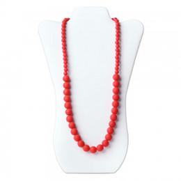 Оптовая продажа-MIX цвет прорезывания зубов ожерелье Baby Nursing Jewels FDA одобрил силиконовые ювелирные изделия детские прорезыватели детские жевать ожерелье силиконовые шарики 10p от