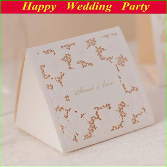Wedding Gift Boxes: Elegant Flower Embosses Wedding Gift Boxes 2014 New Lace