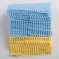 Wholesale Cell Phone Cleaning Cloths Wholesale - DHL Superfine fiber Glasses Cloth lens Cleaning sunglass eyewear Tablet PC Computer Cell phone iphone 6 MP3 4 PSP Camera Screen LCD Glass