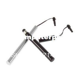 Wholesale Headphones Ipad2 - 10Pcs Stylus Touch Pen headset Headphone Dust Jack Plug Stopper Cap for iPad2 3