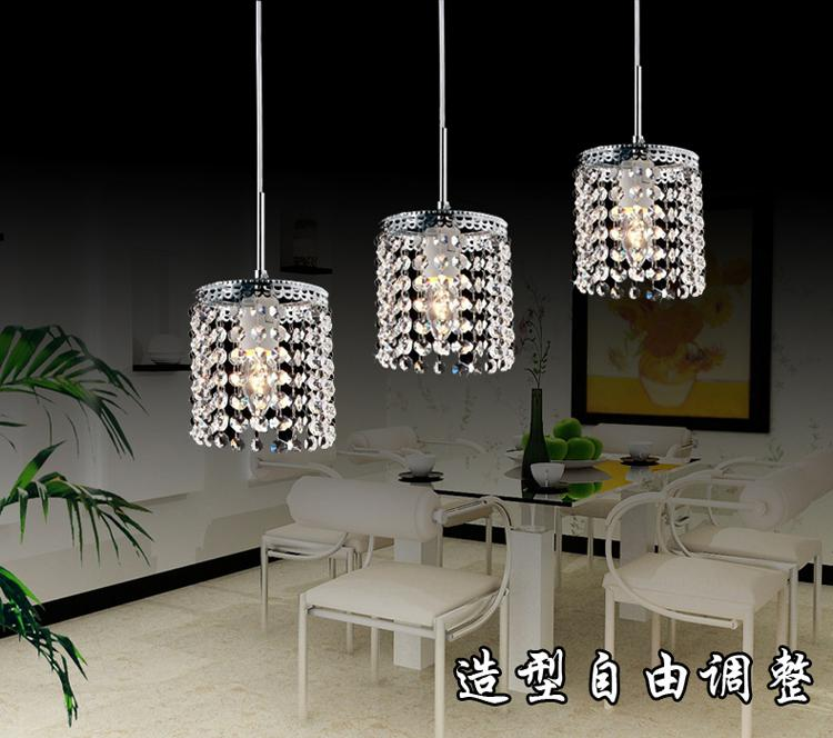 3 Led Lamps Crystal Lighting Pendant Hanging Lamps Modern