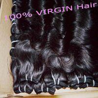 Wholesale Cheap Human Hair Curls - 5 bundles Peruvian Hair Body Wave Grade 7A Can Be curled Cheap Human Hair Weave Extensions 50g pc Hair Weft fast Shipping