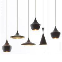 Wholesale light fluorescent aluminum for sale - ABC Beat Light Tall Fat Wide Lamps Lighting Fixtures Bar Dining Romm Bedroom AC110 V Aluminum Pendant Lamps Fixtures Free EMS