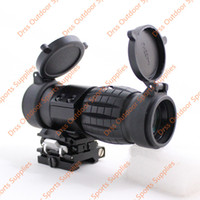 Wholesale Magnifiers Covers - Drss High Quality QD FTS 3X Magnifier Scope For Hunting With Two Lens Cover Black(DS5038A)