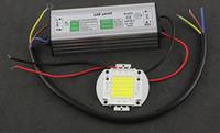yüksek kaliteli koçanı led çip toptan satış-2 Parça Için Yüksek Kaliteli COB SMD LED çip Işıklandırmalı LED Ampul IC SMD Lamba Işık 10 W 25 W 30 W 50 W 60 W + güç kaynağı Led sürücü Su Geçirmez