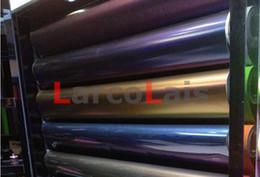 Envoltórios do corpo do auto on-line-Cinza 1.52 m * 30 m 16 Cores Camaleão Envoltório de Vinil Filme Auto Adesiva Do Veículo Completo Embrulho Decoração Auto Etiqueta Do Carro