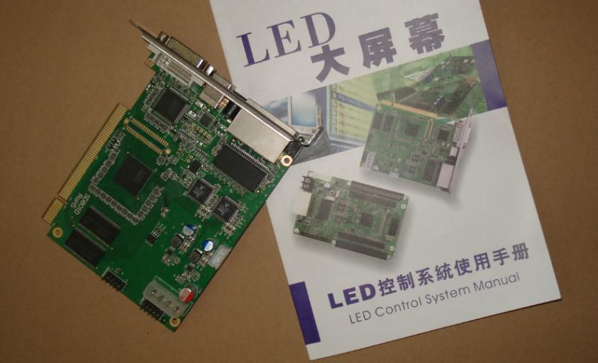 شحن مجاني Linsn LED استوديو 802 نظام التحكم 1 إرسال بطاقة SD802D + 1 RV908 بطاقة receving لعرض اللون الكامل