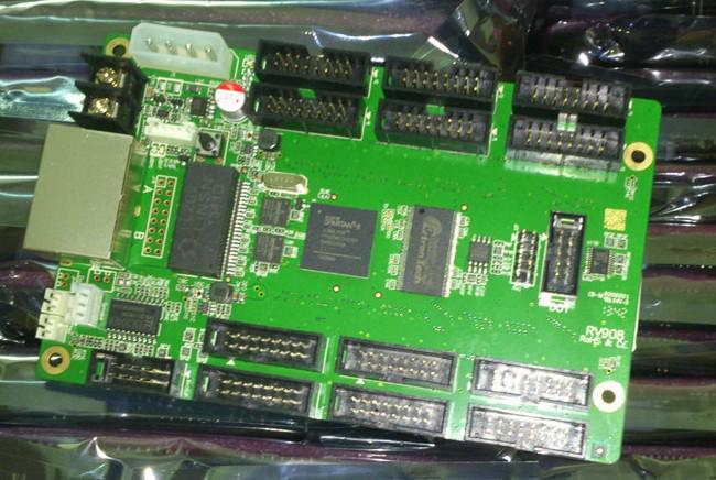 Livraison gratuite LINSN LED studio 802 système de contrôle 1 carte d'envoi sd802D + 1 RV908 carte de réception pour l'affichage à LED Full Color
