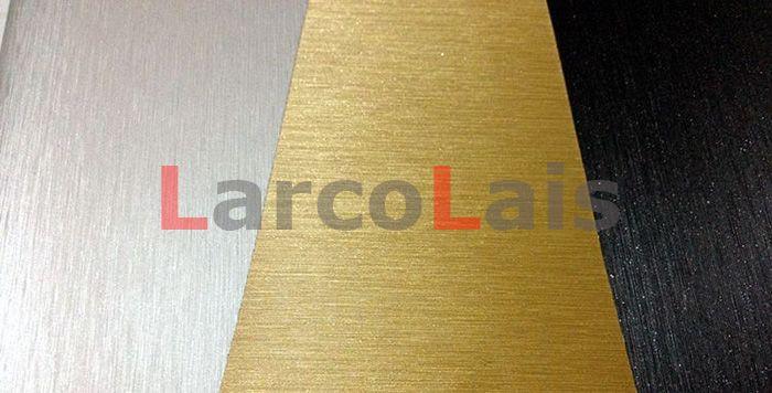 Schwarz 1,52 mt * 30 mt 5 Farben Gebürstet Vinyl Wrap Film Selbstklebende Fahrzeugverpackung Dekoration Auto Auto Aufkleber Mit Luftführung