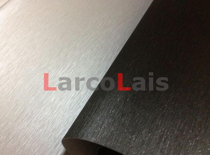 Black 1.52m*30m Brushed Vinyl Wrap Film Self Adhesive Vehicle Wrapping Decoration Auto Car Sticker With Air Guide