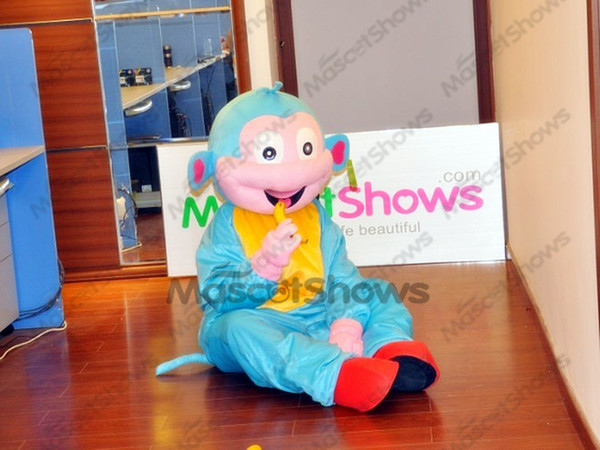 Wholesale Blue Boots Monkey Costume, Blue Monkey Adult Cartoon Mascot  Costume Teen Halloween Costumes Carnival Costumes From Mascotshows,  $195.27