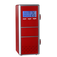 Wholesale FREE DHL USB PC Fridge Car Refrigerator Cheap MINI Portable Heater Beer Juice Warmer Cooler with LED Indicator In Stock Factory Price