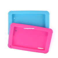 Wholesale mid tablet wholesalers online - 2014 New Soft Silicone Cover Case for inch Android Capacitive a13 mid Tablet PC