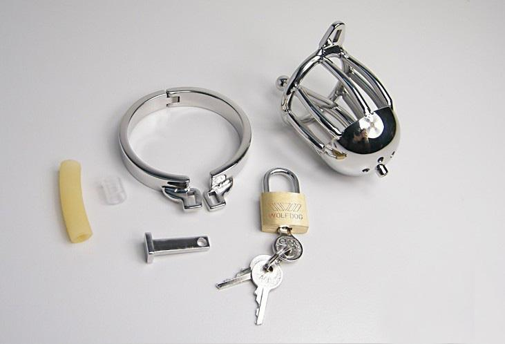 Top quality chastity lifestyle Small Metal Crafts Male Chastity Device Cock Cage steel Sex Toy men male now with plug cb dick cage