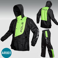 Wholesale Men Rain Coat Suit - Outdoor sports Wind-resistant jacket men waterproof rain coat suit High Quality motorcycle jackets raincoat +pants