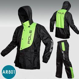 Wholesale Waterproof Suit Motorcycle - Outdoor sports Wind-resistant jacket men waterproof rain coat suit High Quality motorcycle jackets raincoat +pants