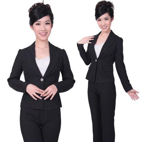 2018 Hotel Front Desk Manager Sleeved Uniforms Overalls Fall And