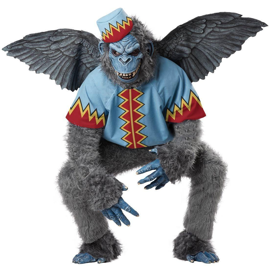 Wizard Of Oz Flying Monkey Cartoon Character Costume Mascot ...