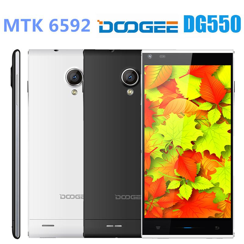 DOOGEE DAGGER DG550 MTK6592 Octa Core Cortex A7 1.7GHz Phone 5.5 Inch IPS HD Screen Android 4.4 android phone RAM 1GB ROM 16GB OTG 3G GPS