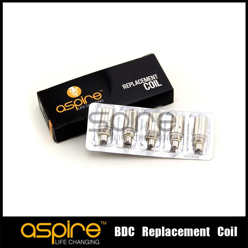 Wholesale - aspire replacement coil for Aspire BDC Atomizer bottom dual coil replacement coil CE5 ET maxi atomizer factory price DHL Free