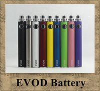 ingrosso evod v sigaretta elettronica-Batteria EVOD Voltaggio variabile 3.3 V 3.7 V 4.2 V 650 mah 900 mah 1100 mah sigaretta elettronica partita CE4 MT3 atomizzatore ego DHL
