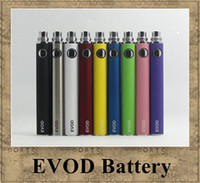 evod bateria atomizador cigarro eletrônico venda por atacado-EVOD bateria Variável Tensão 3.3 V 3.7 V 4.2 V 650 mah 900 mah 1100 mah cigarro eletrônico jogo CE4 MT3 ego atomizador DHL