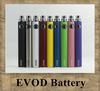 2014 new EVOD battery Variable Voltage 3.3V 3.7V 4.2V 650mah 900mah 1100mah electronic cigarette match CE4 MT3 ego atomizer DHL