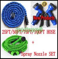 Wholesale Expandable Flexible 75ft - Expandable & Flexible Water Garden Hose, hose flexible 25FT 50FT 75FT 100FT
